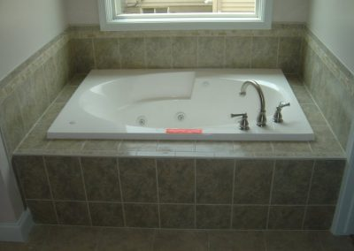 Custom Tile Jet Tub