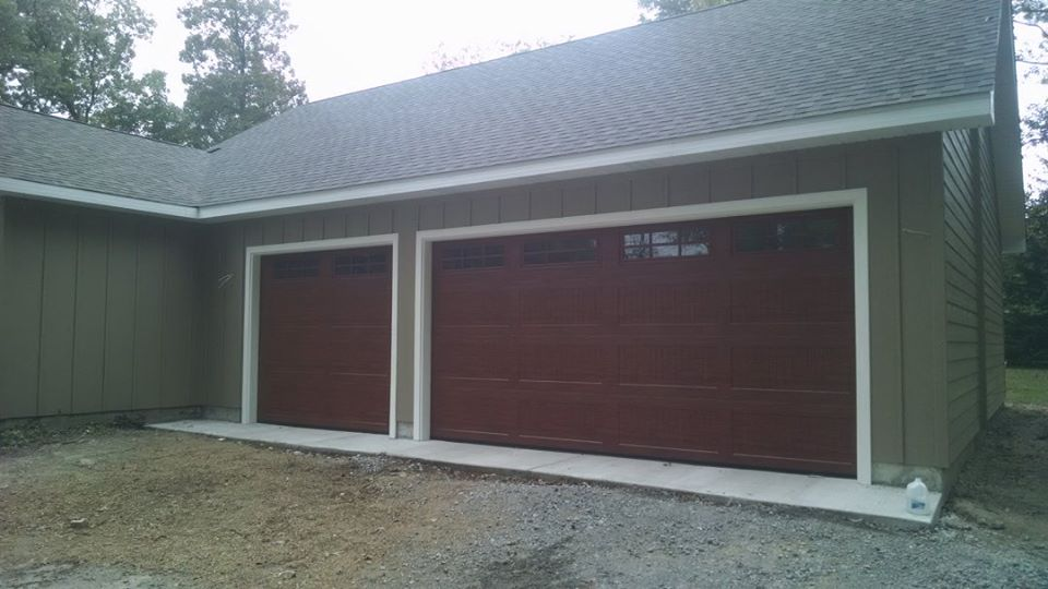 Front Side View  New Addition And Garage